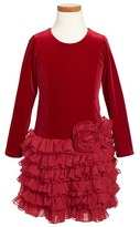Isobella & Chloe 'Leslie' Dress (Toddler Girls)