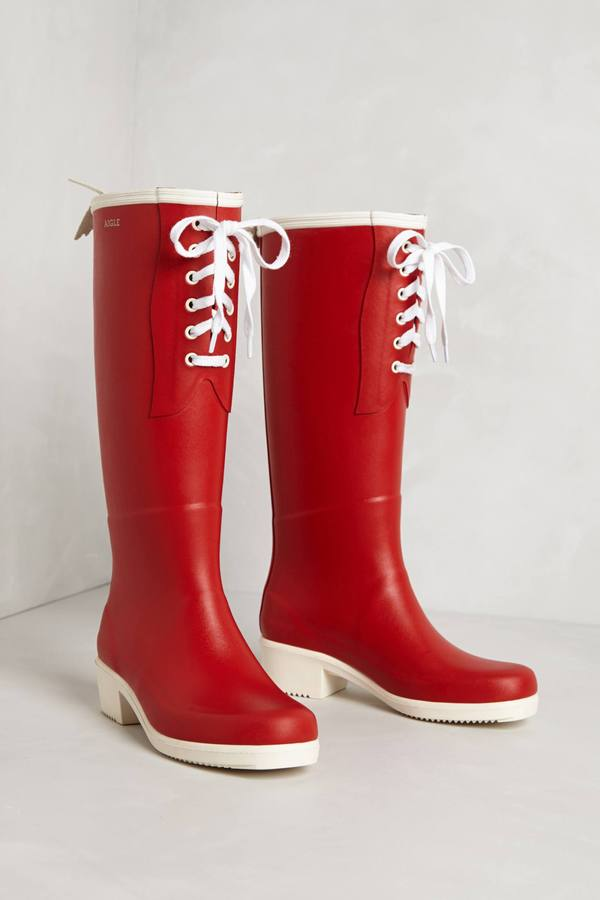 Anthropologie Briza Rain Boots