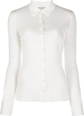 Emilio Pucci Slim-Fit Silk Shirt