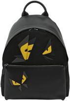 Fendi Monster Butterfly Nylon Backpack