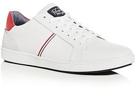 Original Penguin Men's Leo Leather Low-Top Sneakers