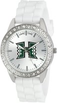 Game Time Women's COL-FRO-HAW Frost College Series Collegiate 3-Hand Analog Watch