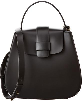 Nico Giani Myria Flap Closure Leather Shoulder Bag