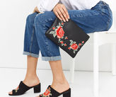 Oasis Bloom Embroidered Clutch