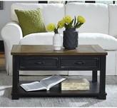 "Laurèl Kenneth Coffee Table with Storage Foundry Modern Farmhouse Size: 18"" H x 36"" L x 24"" W"