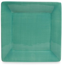 "Bed Bath & Beyond Misto Seafoam Green 8"" Square Salad Plate"