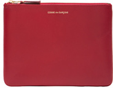 Comme des Garcons Classic Pouch in Red.