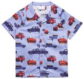 Rachel Riley Blue Cars Print Shirt