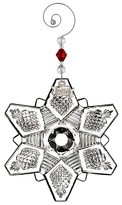 Waterford Annual Snowcrystal Ornament