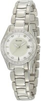 Bulova Women's 96R133 Diamond Case Mother-Of-Pearl Dial Bracelet Watch