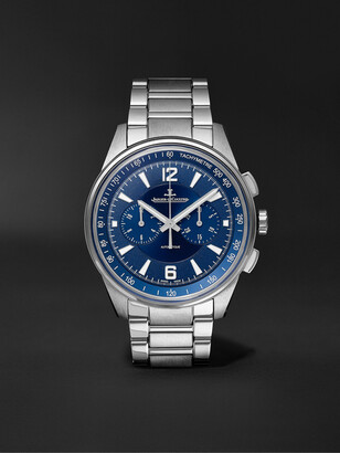 Jaeger-LeCoultre Polaris Automatic Chronograph 42mm Stainless Steel Watch, Ref. No. 9028180 - Men - Blue