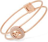 Michael Kors Pavé Logo Hinge Bracelet FIRST AT MACY'S