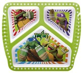 Nickelodeon Zak Designs Teenage Mutant Ninja Turtles Divided Plate
