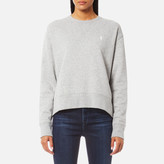 Polo Ralph Lauren Women's Long Sleeve Crew Sweatshirt Grey