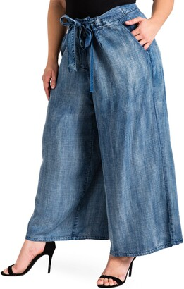 Standards & Practices Sophi Crop Wide Leg Pants
