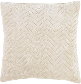 Jaipur Rugs Quilted Chevron Pattern Hand-Made Pillow