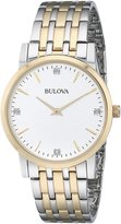Bulova Men's 98D114 Diamond Dial Watch