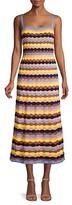 Thumbnail for your product : M Missoni Sleeveless Knit Maxi Dress