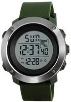 Skmei Women's Fashion Sport Watches Digital Dual Time Zone Countdown chronoscope Military Waterproof Watch