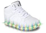 Skechers Energy Lights Girls Toddler & Youth High-Top Sneaker