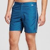 IBIZA Ocean Club Men's Swim Trunks Horizontal Stripe Blue - IBIZA