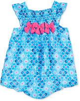 First Impressions Floral-Print Bubble Romper, Baby Girls (0-24 months), Created for Macy's