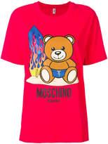 Moschino printed oversized T-shirt