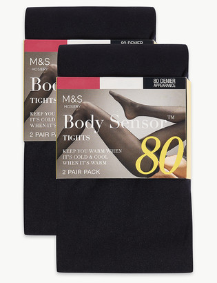 Marks and Spencer 4 Pack 80 Denier Body Sensor Opaque Tights