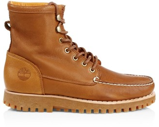 Timberland Jacksons Landing Moc-Toe Leather Boots
