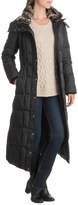 London Fog Walker Hooded Quilted Down Jacket (For Women)