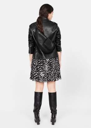 MANGO Violeta BY Pocket crossbody belt bag black - One size - Plus sizes