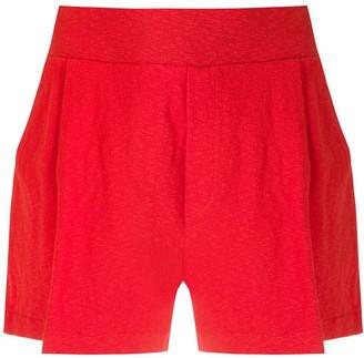 OSKLEN pleated Rusty shorts