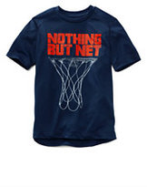 Classic Little Boys Active Graphic Tee-Ocean Wave Net