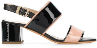 Fratelli Rossetti two-tone strap sandals