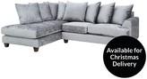 Cavendish Harlow Left-Hand Fabric Corner Chaise Sofa