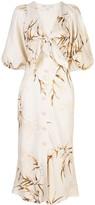 Shona Joy Knot Detail Button Down Dress
