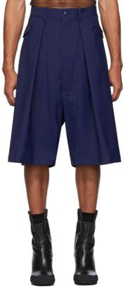 Random Identities Navy Hip Pocket Shorts