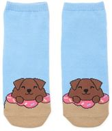 Forever 21 FOREVER 21+ Donut Dog Ankle Socks