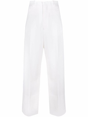 Jacquemus High-Waisted Wide-Leg Trousers