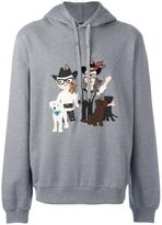 Dolce & Gabbana Western Designer's patch hoodie - men - Cotton - 46