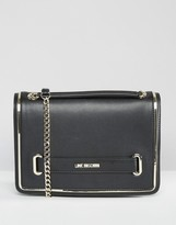 Love Moschino Metal Trim Shoulder Bag
