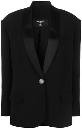 Balmain Shawl Collar Blazer