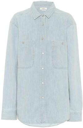 Etoile Isabel Marant Galisea cotton-chambray shirt