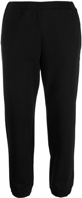 Love Moschino Cropped Track Pants