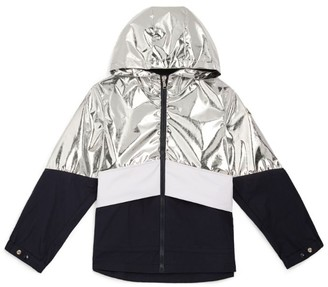 Moncler Kids Shiny Quinic Jacket (8-10 Years)