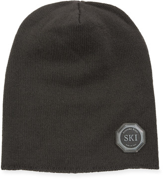 Stefano Ricci Boys' Ribbed Cashmere Beanie Hat