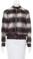 A.L.C. Wool-Blend Leather-Trimmed Jacket