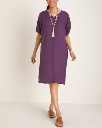 Chico's Linen Tunic Dress