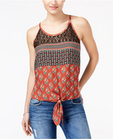 American Rag Printed Lace Tank Top, Only at Macy's