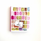 "The Well Appointed House ""Be Sweet"" Colorful Macaroons Journal"